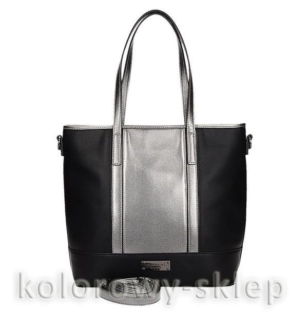 Monnari elegancka torebka BAG 8720 szara