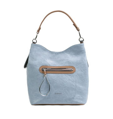 110330b5add3b Monnari Torebka damska shopper worek BAG 0040 niebieski na wiosnę lato