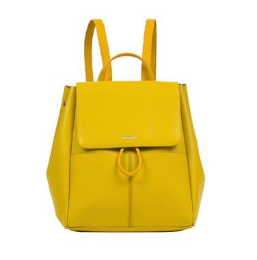 10087089b184c Torebki damskie Monnari Torebka Damska plecak BAG 5440 żółty ...
